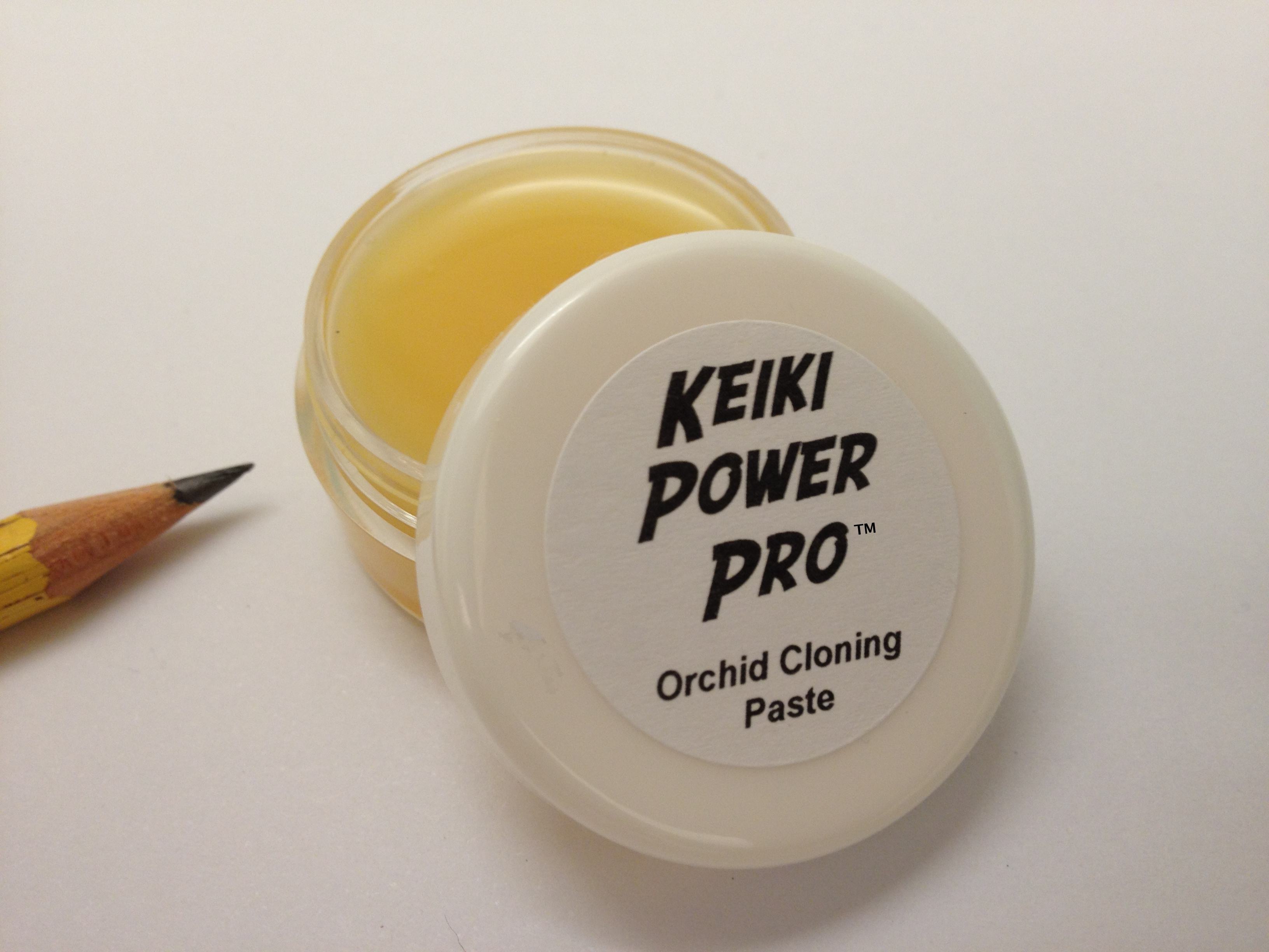 Keiki Power Pro 10g jar white cap label scale no annotations Amazon FBA